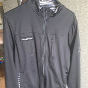 Travis Mathew Grey Medium Zip Up Jacket